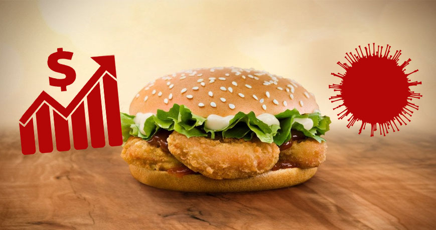 Corona-Burger